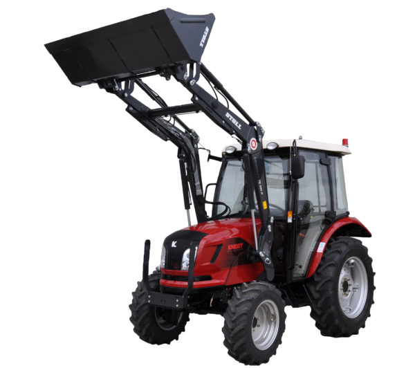 micro tracteur knegt 30 40 50 cv cabine chargeur frontal