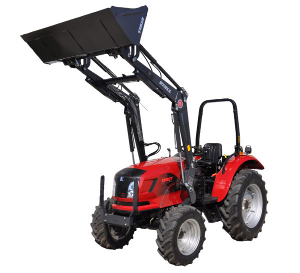 micro tracteur knegt 30 40 50 cv chargeur frontal
